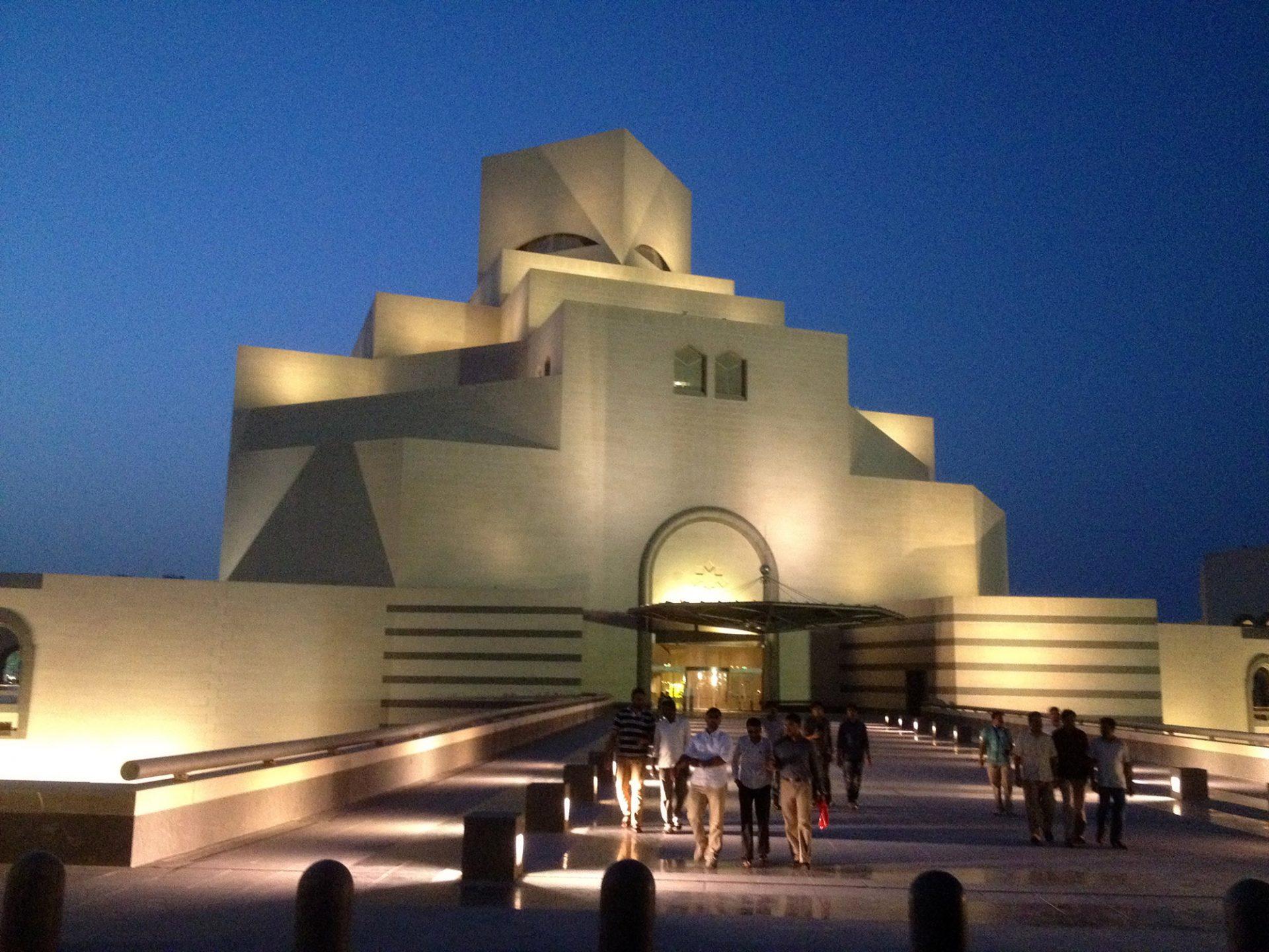 Bridge connection to MIA Museum Of Islamic Art, Doha/Qatar. Photo by: ©GA Qatar