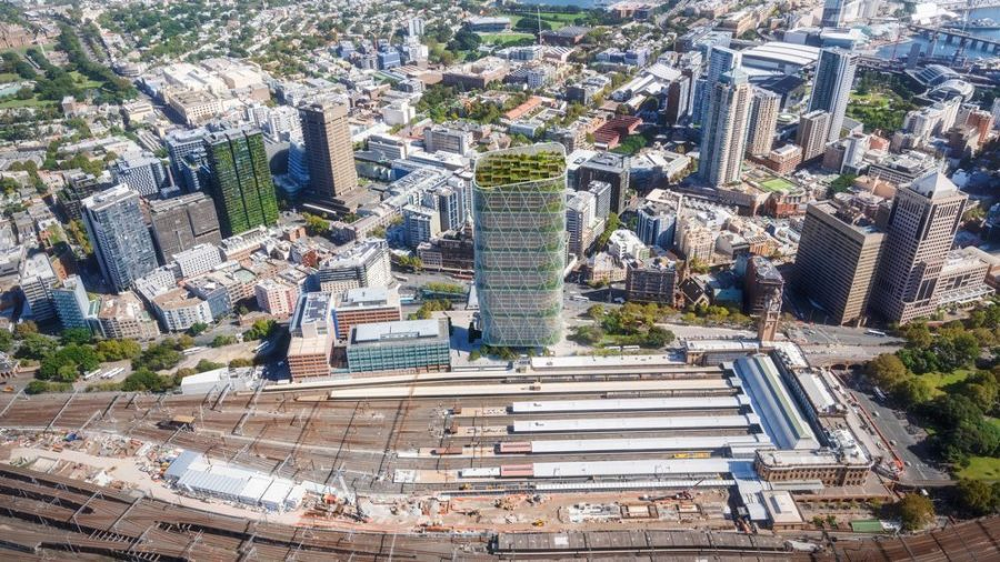 3. SHoP Architects and BVN Architecture's Atlassian Headquarters on rezoned land at Sydney's Central Station. - renovación urbana