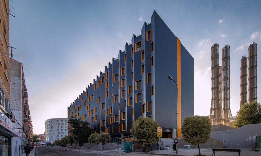 RESIDENTIAL BUILDING FOR SOCIAL HOUSING BY CAMACHO-MACIA ARQUITECTOS, photo courtesy of EMVS - écoquartier Puente de Vallecas