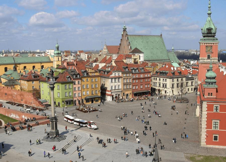 The Old Town. - Varsovia